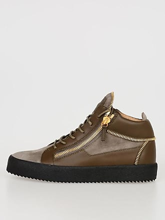 2d6de3d60975 Giuseppe Zanotti Leather CAMOSCIO High Sneakers size 40