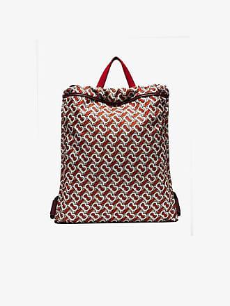 01e7c6446257 Burberry Monogram Print Nylon Drawcord Backpack