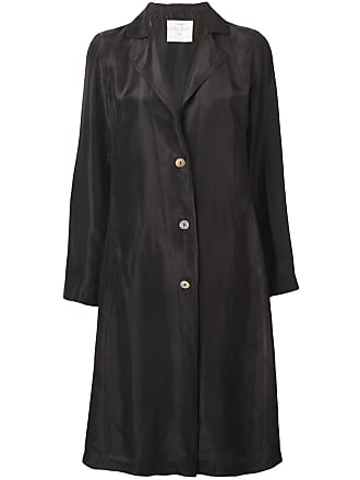 Forte_Forte brown silk coat