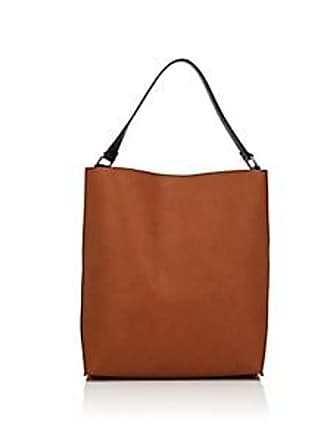 5a697ef7d25 Barneys New York Womens Ann Colorblocked Faux-Leather Hobo Bag - Brown