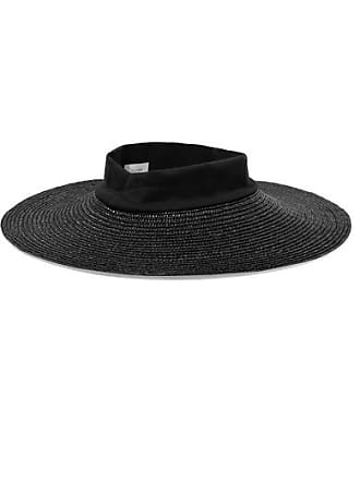 9029f8966fb5d Janessa Leoné. Womens Neil Wool Felt Fedora - White. Delivery  free. Clyde  Dream Jersey-trimmed Straw Hat - Black