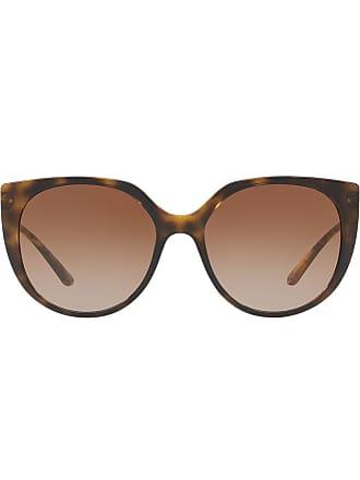 Dolce & Gabbana Eyewear oversized tinted sunglasses - Marrom