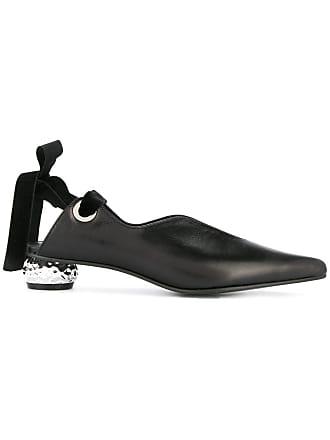 Yuul Yie ribbon sling-back pumps - Black