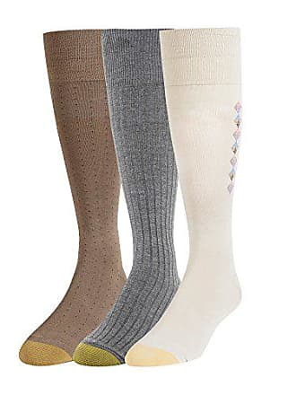 f78531711f12 Gold Toe Mens Over The Calf Dress Socks, 3 Pairs, string/grey heather