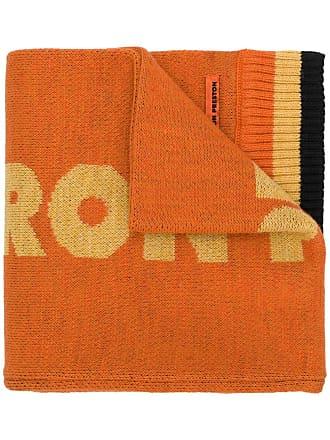 HPC Trading Co. Cachecol de tricô canelado - Amarelo