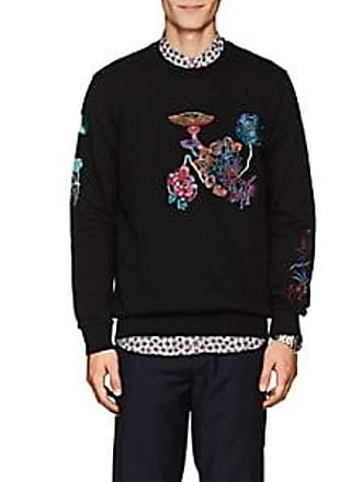 88744159db6 Paul Smith Mens Embroidered Cotton Terry Sweatshirt - Black Size L
