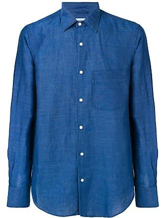 Aspesi Camisa ampla - Azul