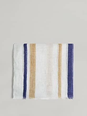 Hackett Stripe Linen-Blend Scarf