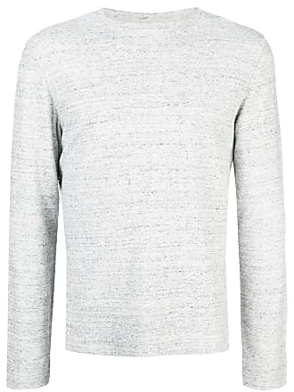 Officine Generale Camiseta mangas longas - Cinza