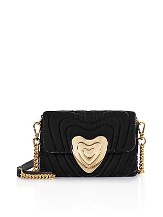 Escada Small Velvet Heart Bag