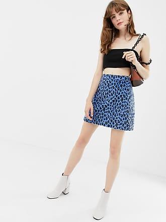 174b6618fc Glamorous Minifalda con estampado de leopardo de Glamorous