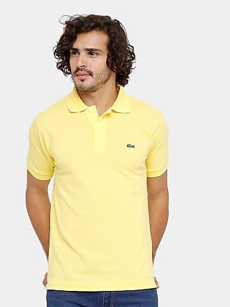 a60e2026386ee Lacoste Camisa Polo Lacoste Piquet Original Fit Masculina - Masculino