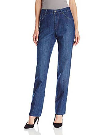 Gloria Vanderbilt Womens Petite Amanda Classic Tapered Jean, 4P Short Blue