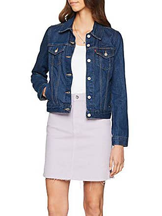 cheaper 81921 15324 Levi s Original Trucker Veste en Jean, Bleu (Soft As Butter Dark 0063),