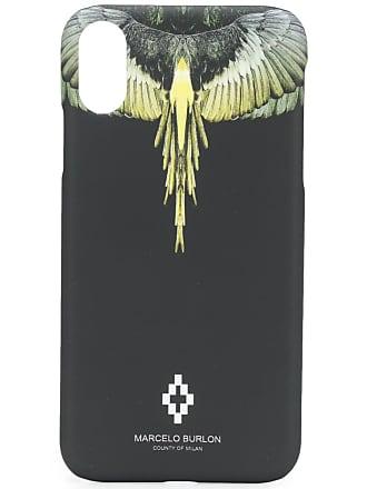 Marcelo Burlon Capa para iPhone X - Preto