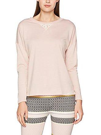 3661be146d98b3 Skiny Damen Schlafanzugoberteil Sleep Mix & Match Shirt Langarm Rosa (Nude  0218) 42