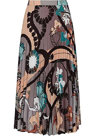 f1c167920 Reiss Lolita - Pleated Midi Skirt in Multi, Womens, Size 10