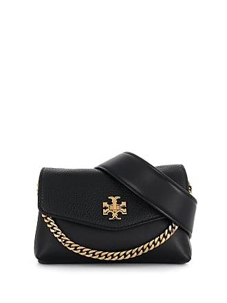 Tory Burch chain-embellished belt bag - Preto
