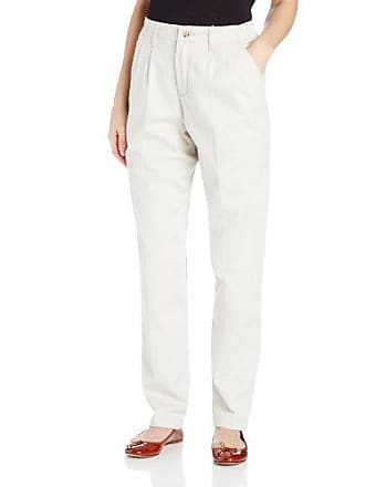 Lee Lee Womens Petite Relaxed Fit Side Elastic Pleated Pant, String, 12 Petite