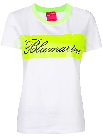 Blumarine Camiseta com logo - Branco