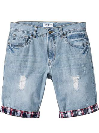 02141efc9788 John Baner Jeanswear Herr Bermuda i blå - John Baner JEANSWEAR