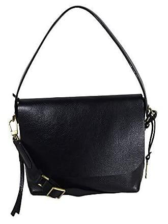 1c336808c21b2 Fossil Damen Handtasche Tasche Schultertasche Maya Flap Crossbody Leder  Schwarz