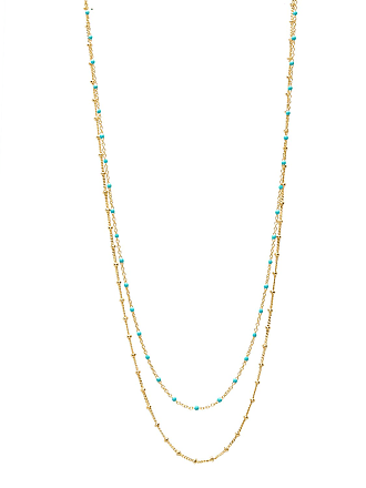 Gorjana Capri 2-Layer Necklace