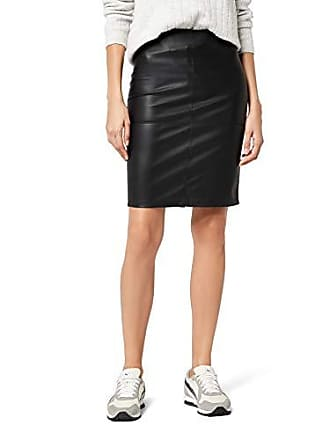 c4d3d50ddc3 Only onlTICKET FAUX LEATHER SKIRT OTW NOOS