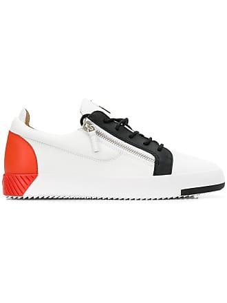 Giuseppe Zanotti Frankie colour block sneakers - White