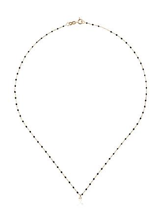 Gigi Clozeau Colar YG de ouro amarelo com diamante - Preto