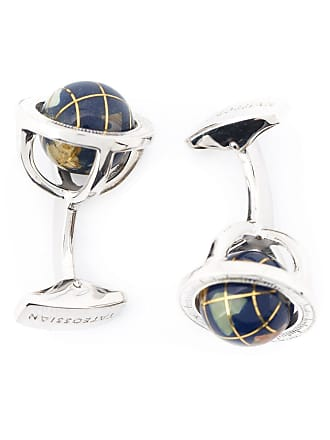 Tateossian Globe cage cufflinks - Black