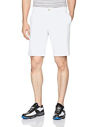 J.Lindeberg Mens Eloy Micro Stretch Shorts, White, 36