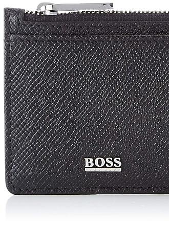 BOSS Signature_5cc Z Poch, Mens Wallet, Black, 0.5x8x13 cm (B x H T)