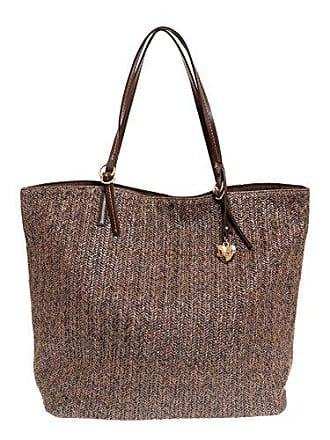 d211d7d0be Lalù sac bandoulière femme - Marron - Marron (Marrone 017), 38x33x17 cm EU