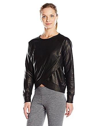 2(x)ist Womens Glazed Sweatshirt, Black, Medium