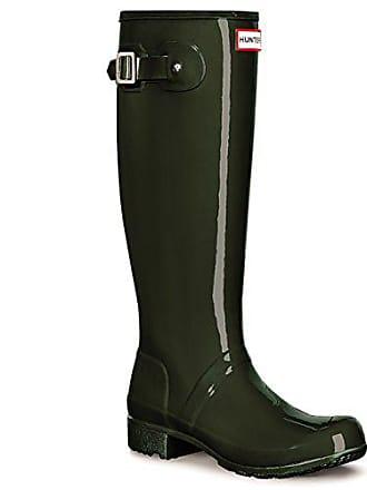 Damen Hunter Original Tall Einstellbar Gloss Wasserdicht Gummistiefel EU 36-43