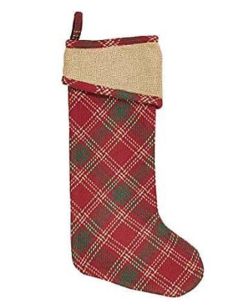 VHC Brands Holiday Decor Whitton Stocking, 20 x 11