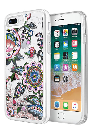 Vera Bradley Stitched Flowers Glitter Flurry iPhone 8/7 Plus Case