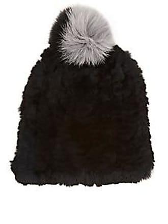 aa38502273b Eugenia Kim Womens January Knit Fur Beanie - Black