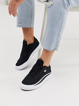 adidas Originals Sabalo trainers in black and white