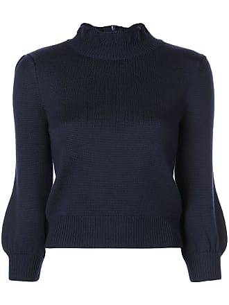 7a7c6dabbc05 Co bubble sleeves knit sweater - Blue
