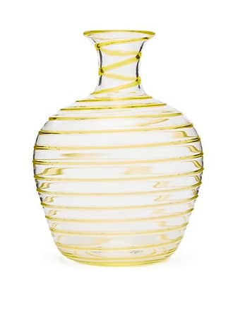 Yali Glass A Filo Large Glass Carafe - Yellow