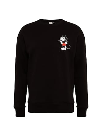21711bd36e6ef4 Jack   Jones Herren - Sweatshirts   Sweatjacken JORMICKEY SWEAT CREW NECK  schwarz   weiß