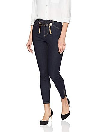84a7a6b3a1 Guess Womens Gold Tipped Marilyn 3 Zip Jean