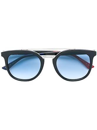 e48ea297c5e Gucci round frame sunglasses - Black