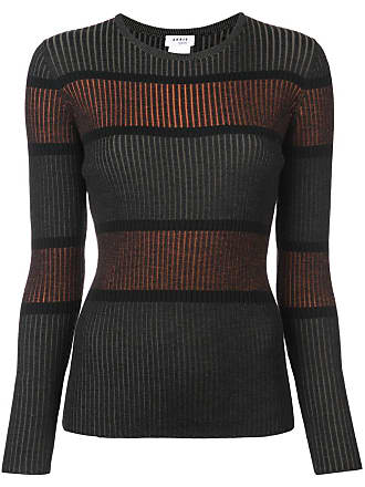 Akris ribbed striped jumper - Green