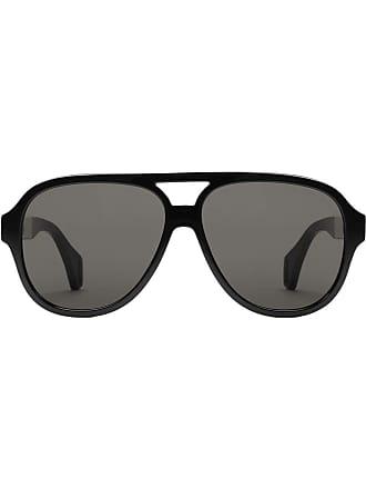 Gucci Óculos de sol aviador - Preto
