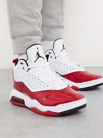Nike Jordan Nike Jordan Maxim 200 trainers in white/red