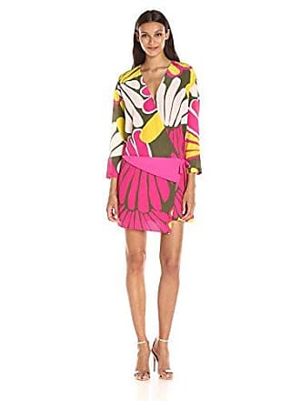 Juicy Couture Black Label Womens Sw Silk Bromeliad Floral Dress 8c5083cb8