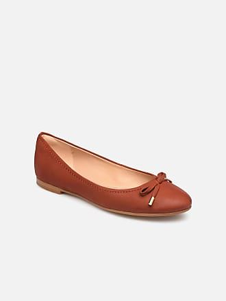 12275982e84102 Clarks Grace Lily - Ballerinas für Damen   rot